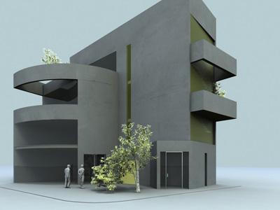 N. KOSMOS | COMMERCIAL BUILDING
